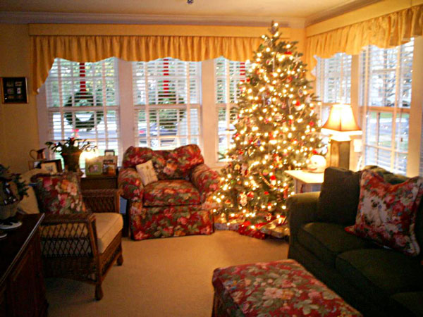 christmas time at boxwood inn - Williamsburg Decorated For Christmas